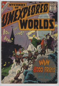 Mysteries of Unexplored Worlds, #12, April 1959, Ditko Story