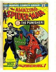 Amazing Spider-Man # 129 VF Marvel Comic Book Lizard Mary Jane 1st Punisher RS1