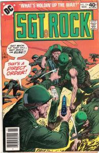 Sgt. Rock #334 (Nov-79) FN/VF Mid-High-Grade Sgt. Rock