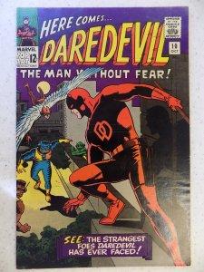 DAREDEVIL # 10 MARVEL SILVER FEAR ACTION ADVENTURE HI GRADE VF