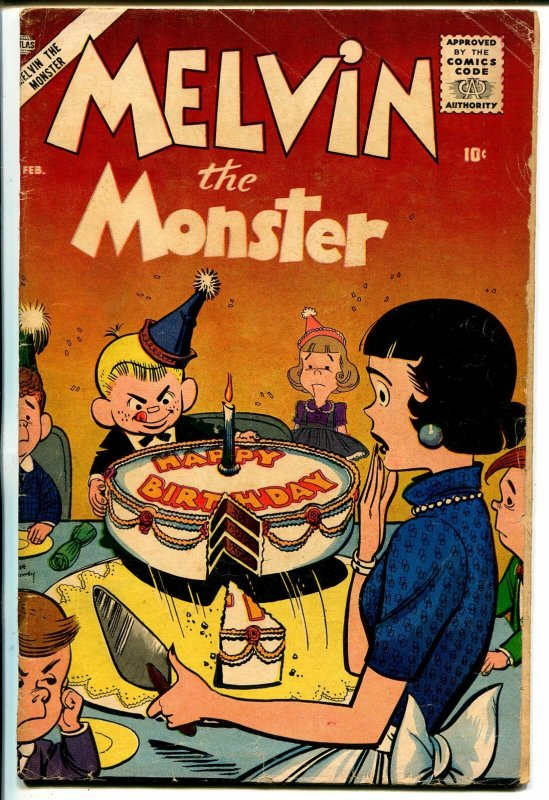 Melvin the Monster #4 1957-Atlas Comics- Stan Lee- Joe Maneely VG