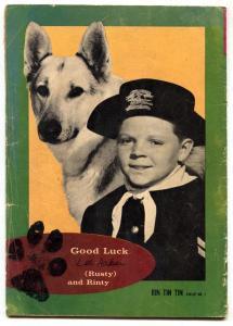 Rin Tin Tin and Rusty #1 1963- GOLD KEY- German Shepherd G