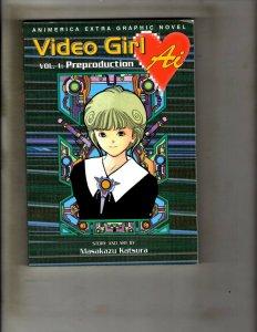5 Comics Video Girl Vol 5 Lemon Kids 12 Dark Whisper 1 DBX Vol 1 Young 3 JF31
