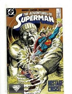 12 Adventures of Superman DC Comics 442 443 445 446 447 448 455 456 457 + HG3