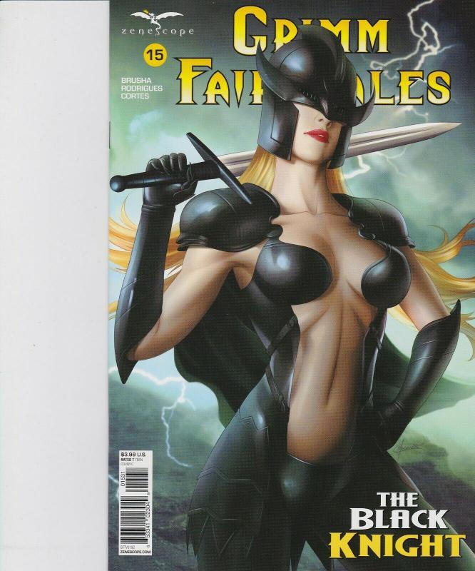 Grimm Fairy Tales Volume 2 #15 Cover A Zenescope Comic GFT NM Vitorino