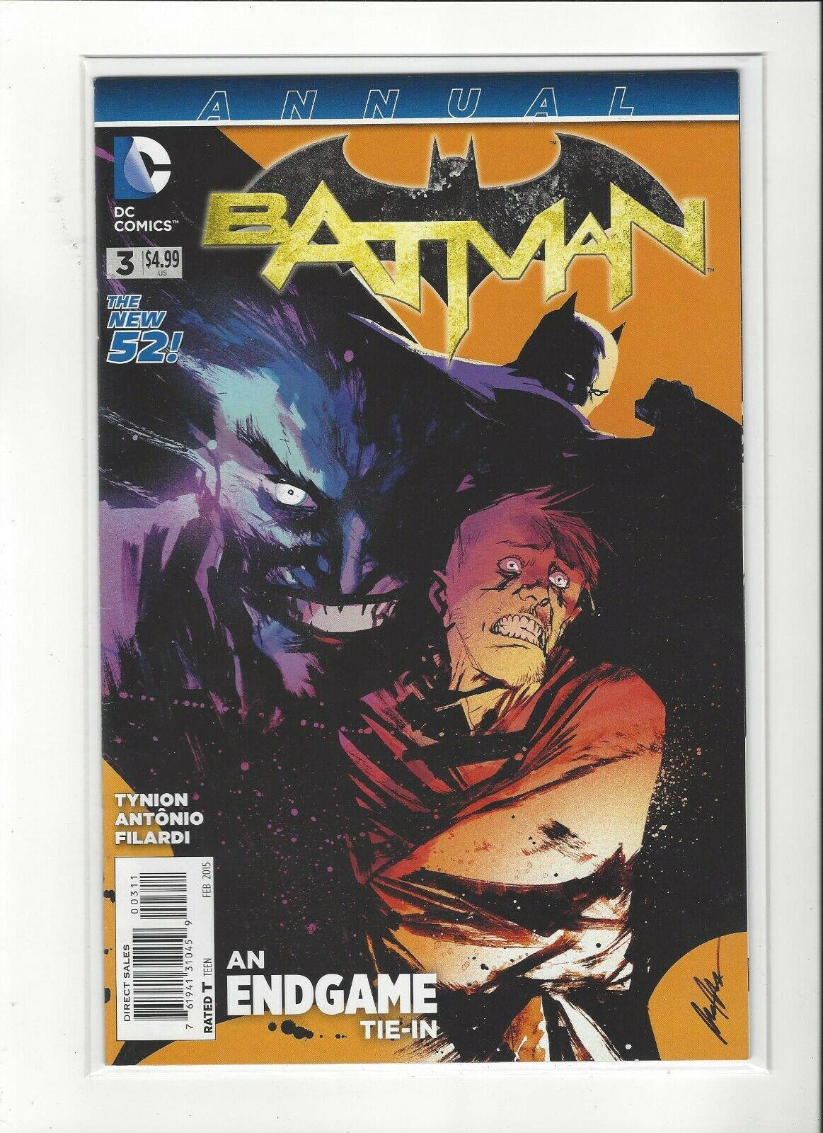 Batman Annual # 3 NM Condition DC, New 52