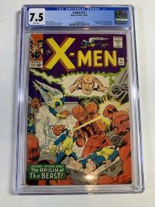 X-men #15 (Marvel, 1965) CGC Graded 7.5  1st Mastermold