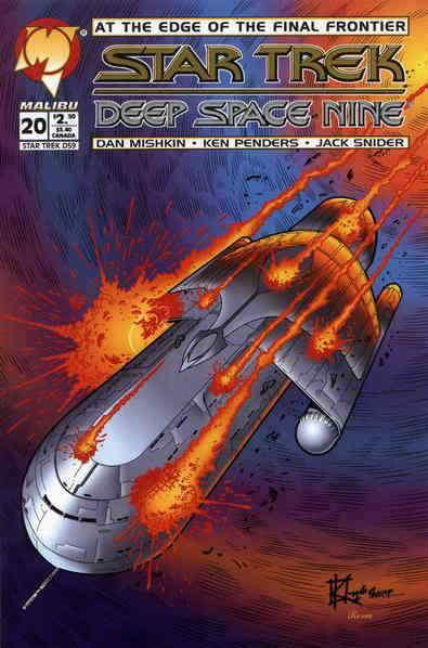 Star Trek: Deep Space Nine (Malibu) #20 FN; Malibu | save on shipping - details