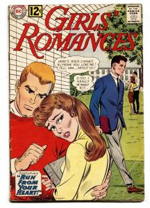 GIRLS' ROMANCES #88 comic book 1962-DC ROMANCE-COLLEGE CO-ED