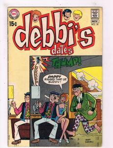 Debbi's Dates # 10 VG/FN DC Silver/Bronze Age Comic Book Henry Scarpelli Art JH2