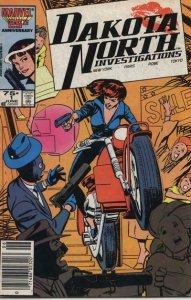 Dakota North #1 (Newsstand) VF; Marvel | save on shipping - details inside