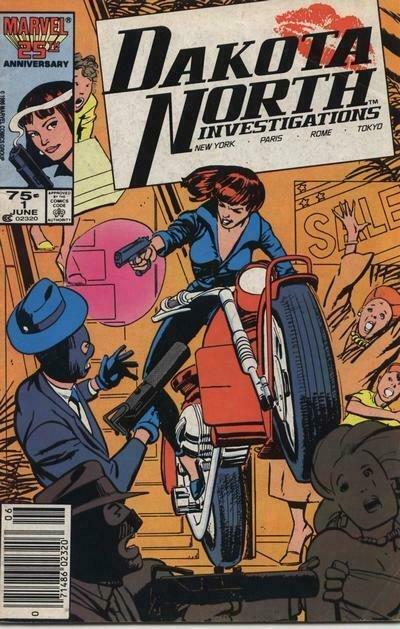 Dakota North #1 (Newsstand) VF; Marvel   save on shipping - details inside