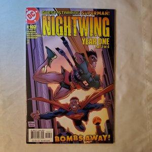 Nightwing 102 Very Fine+ Cover by Scott McDaniel