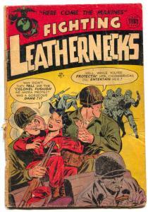 Fighting Leathernecks #3 1952- Pin ups- Golden Age War comic FAIR