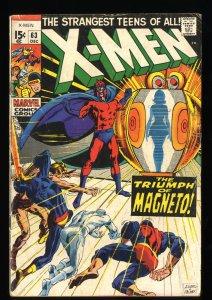 X-Men #63 VG 4.0 1st Lorelei! Marvel Comics