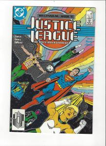 Justice League International #10 1987 DC Comics Copper Age  NM