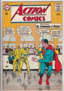 Action Comics #322 (Mar-65) FN/VF Mid-High-Grade Superman, Supergirl