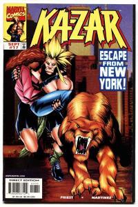 Ka-Zar #17-1998 comic book-First Everett Ross-Civil War Movie-Marvel