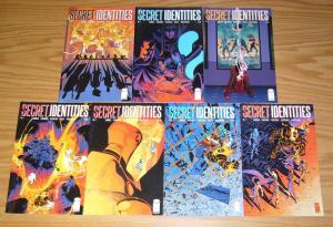 Secret Identities #1-7 VF/NM complete series - jay faerber - image comics set