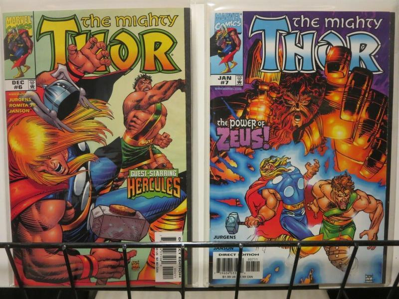 THOR (1998) 6-7  HERCULES 2-part story arc COMICS BOOK