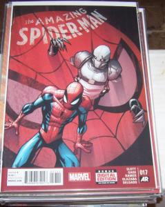 Amazing Spider-Man # 17 (June 2015, Marvel) peter parker silk ghost