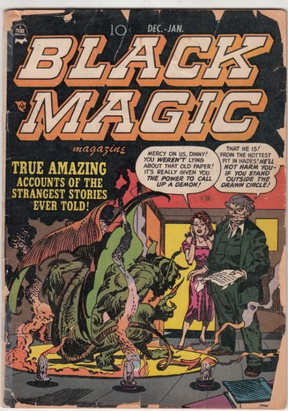 Black Magic #2 (Dec-51) FR/GD Low-Grade