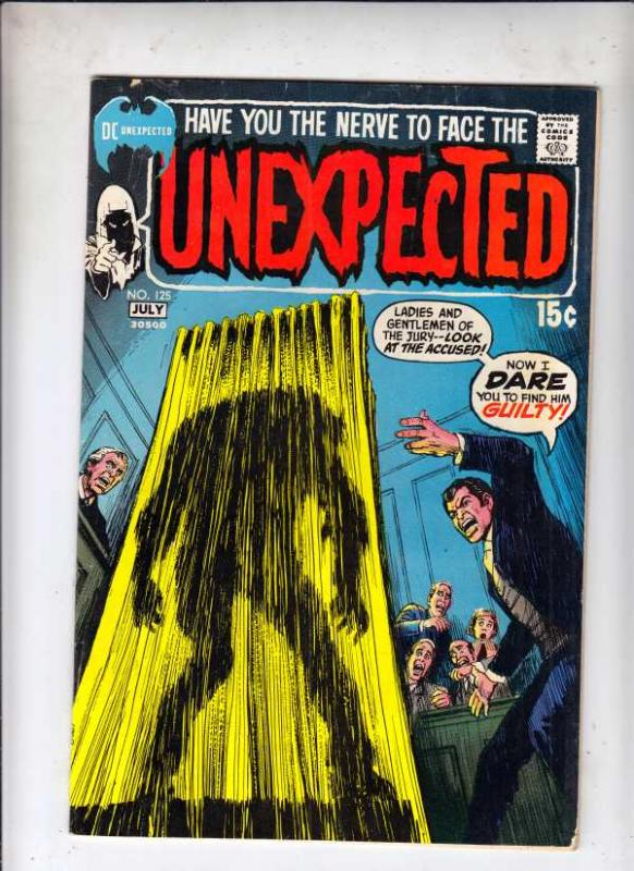 Unexpected, The #125 (Jul-71) FN/VF Mid-High-Grade
