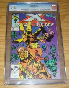 X-Factor #22 CGC 9.4 cameo of archangel pre-dates first appearance - apocalypse