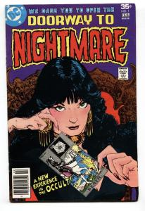 Doorway to Nightmare #1 comic book-1978-First Madame Xanadu-FN+