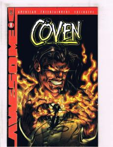 10 The Coven Awesome Comics # 1 (4) 2 4 (2) 5 (3) DF Variants SIGNED Loeb BN14