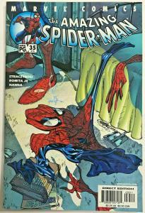 AMAZING SPIDER-MAN#34 VF/NM 2001 J SCOTT CAMPBELL COVER MARVEL COMICS