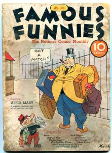 Famous Funnies #20 1936- 1st Apple Mary- Buck Rogers- Joe Palooka G