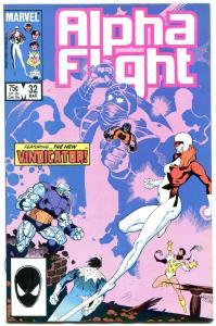 ALPHA FLIGHT #32 1986 -MARVEL COMICS-MUTANTS! NM