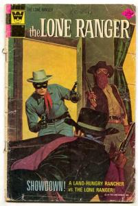 The Lone Ranger #20 1975- Whitman variant FAIR