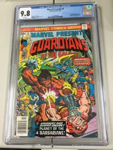 MARVEL PRESENTS 9, CGC 9.8, 1977 MARVEL, GUARDIANS OF THE GALAXY APPEARANCE