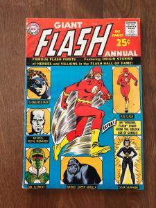 Giant Flash Annual #1 (DC Comics; 1963) - Fine