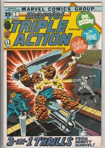 Marvel Triple Action #1 (Feb-72) NM- High-Grade Fantastic Four