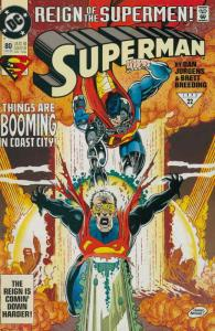 Superman (2nd Series) #80 VF/NM; DC   save on shipping - details inside