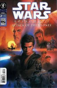 Star Wars Episode II—Attack of the Clones #3 VF; Dark Horse | save on shipping -