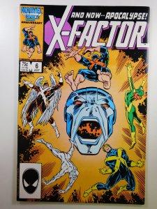 X-Factor #6 (1986) VG