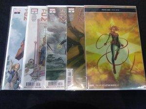 The Life of Captain Marvel #1-5 FULL RUN 2018 Marvel Comics 1 2 3 4 5 Main Cover