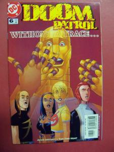 DOOM PATROL #6  NM (9.2)  OR BETTER DC COMICS