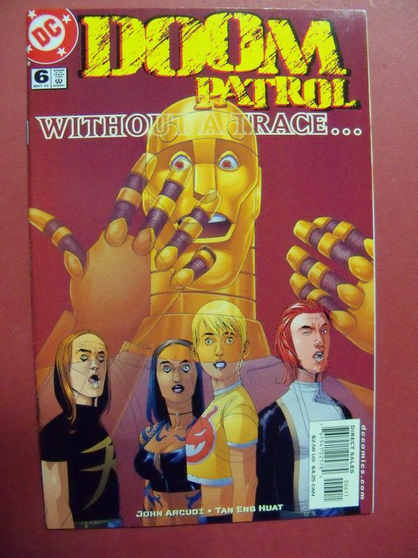 DOOM PATROL #6  NM (9.2)  OR BETTER DC COMICS