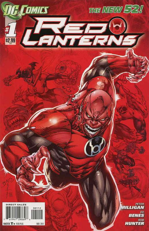 Red Lanterns #1 (2nd) VF/NM; DC | save on shipping - details inside