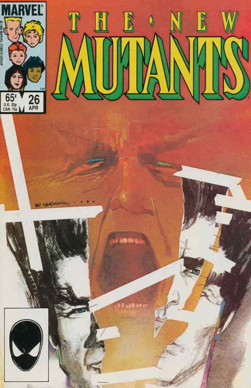New Mutants, The #26 VF/NM; Marvel | save on shipping - details inside