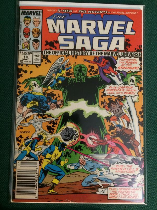 The Marvel Saga #18