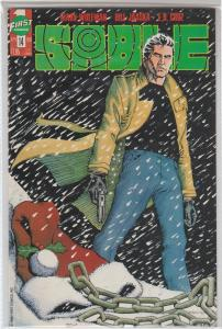 $.99 CENT SALE! SABLE #14, MARV WOLFMAN, FIRST COMICS - 1989 BAGGED & BOARDED