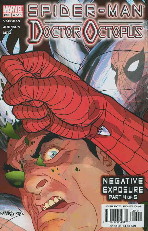 Doctor Octopus: Negative Exposure #4 VF/NM; Marvel | combined shipping available