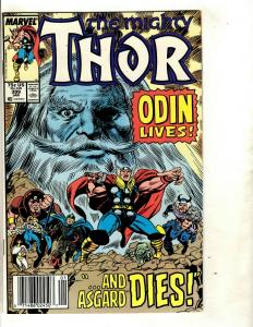 Lot of 7 Thor Marvel Comic Books # 399 400 447 466 500 Annual 12 13 Loki DS3