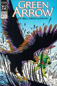 Green Arrow (1988 series) #30, NM- (Stock photo)